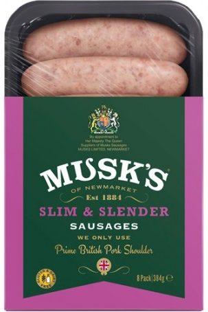 Slim and Slender Sausages